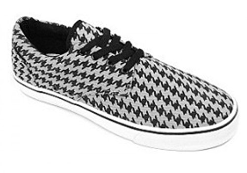 Mono Skateboard Houndstooth Gray Schuhe Vox 7qXBwxF