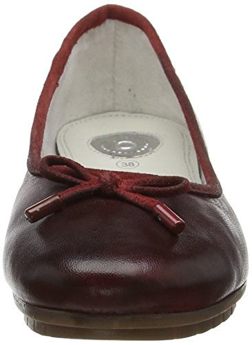Red Brown Loafers 422431604100 3000 Bugatti Women's Red wfqAcPPp