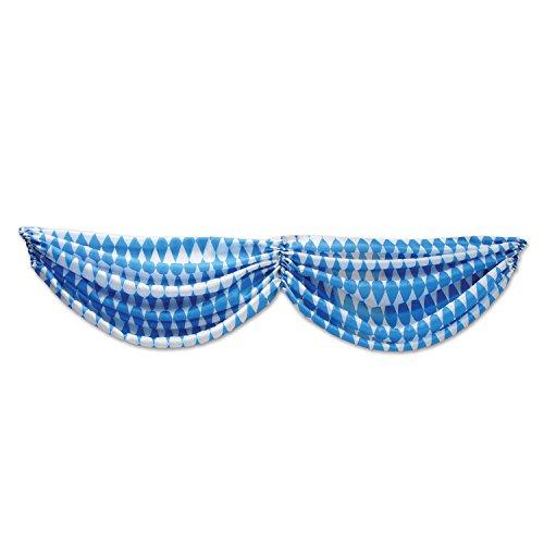 (Beistle 54677 Oktoberfest Fabric Bunting, 5' 10