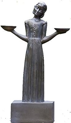 "Bird Girl with Pedestal ""28h"