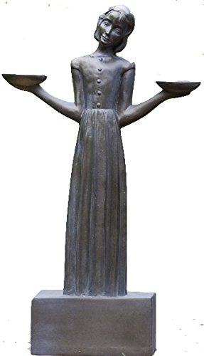 Bird Girl with Pedestal ''28h