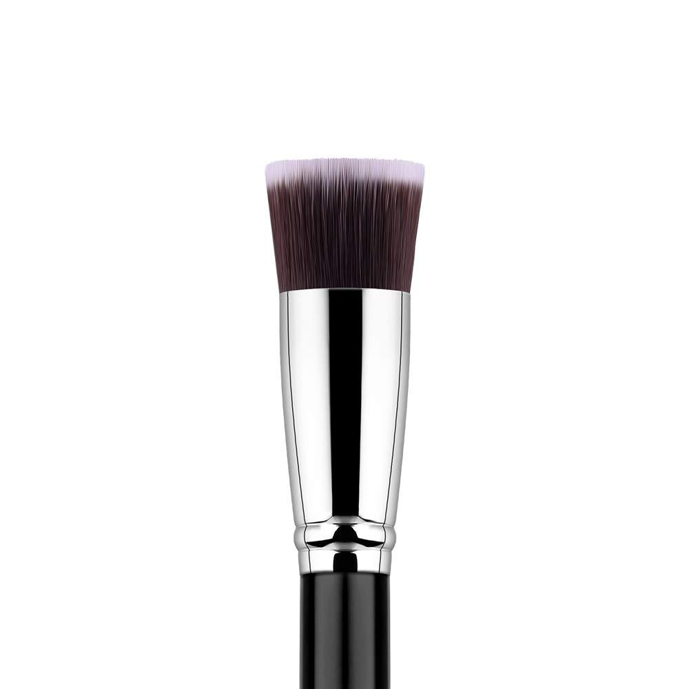 Foundation Brush Flat Top Kabuki Makeup Brush for Liquid Cream Powder Mineral Wet Cosmetics, Blending Stippling Concealer Blurring Buffing Brush, Face Base Brush (Foundation Brush F614)