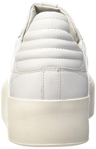 Bikkembergs Pow-er 744 Low Shoe M Leather, Sandalias con Plataforma para Hombre blanco