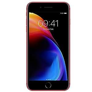 Apple iPhone 8 Plus, 64 GB, Kırmızı (Apple Türkiye Garantili)
