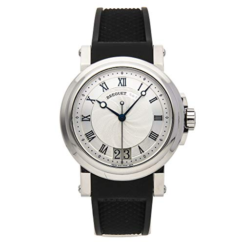 Breguet Marine Mechanical (Automatic) Silver Dial Mens Watch 5817ST/12/5V8 (Certified Pre-Owned) (Breguet Watches Men)