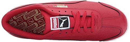 Puma Mens Roma Classic Perf Sneaker Toreador-puma White-puma Team Gold