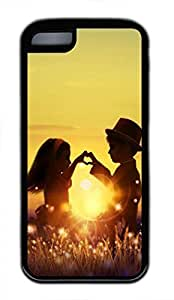 linJUN FENGiphone 4/4s The Setting Sun Lovers Case - Unique Cool Soft Cases