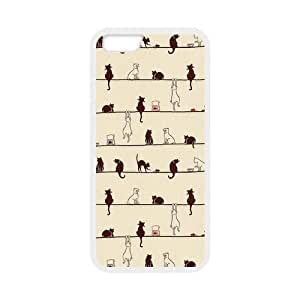 diy zhengFunny Cats Pattern Snap on Case Cover for Personalized Case for iPhone 6 Plus Case 5.5 Inch (Laser Technology) Case Screen iPhone -03