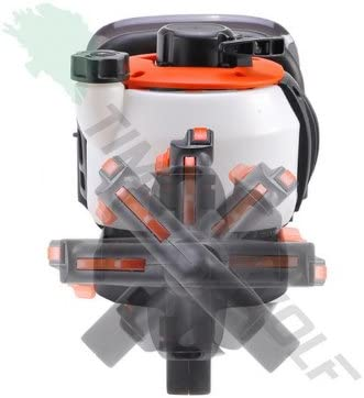 Taille-haie thermique 25,4 cm/³ /à poign/ée rotative puissance 1,25 CV lames 600 mm