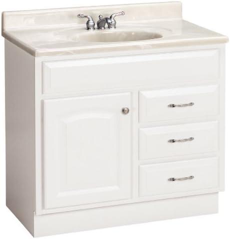 Amazon Com Estate By Rsi 36 White Elegance Bath Vanity Kitchen Dining