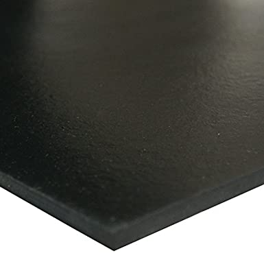 Adhesive Backed 0.187 Thickness Smooth Finish Black 0.187 Thickness 2 Width 36 Length Small Parts 2 Width 60A Durometer 36 Length 33-P006-187-002-036 General Purpose Rubber