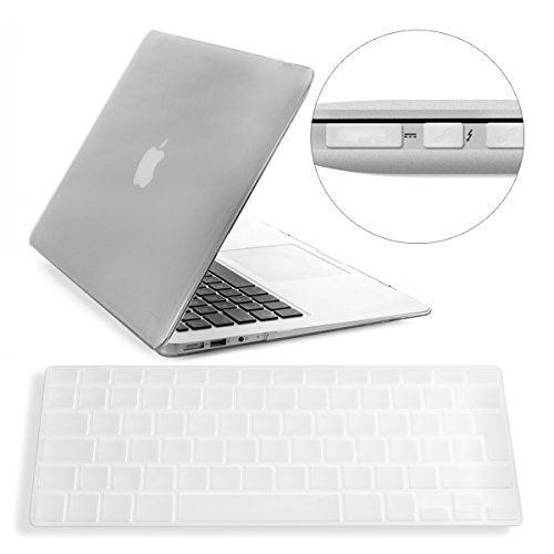 Crystal Plastic Hardcover Case (3in1: Elegant and light weight 2-part Crystal Case for Apple MacBook Air 13