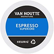 Van Houtte Espresso Superiore Recyclable K-Cup Coffee Pods, 24 Count For Keurig Coffee Makers