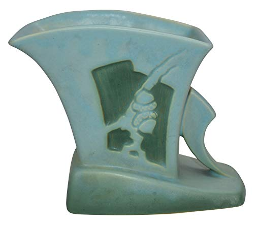 Roseville Pottery Silhouette Blue Planter 756-5 ()