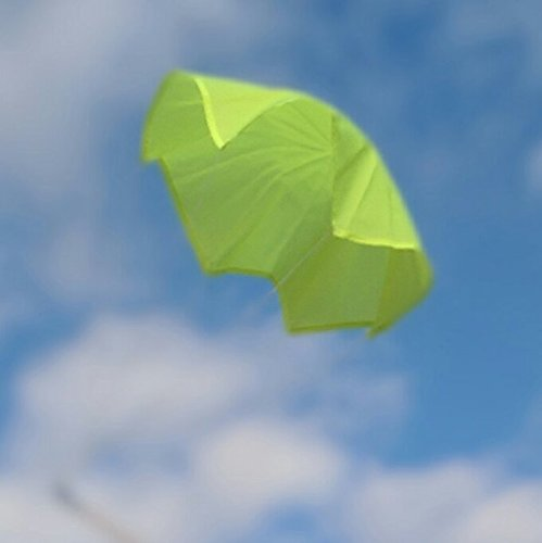 Top Flight Parachute Neon Yellow 50'' Rip Stop Nylon PAR-50