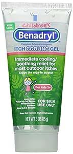 Benadryl Anti-Itch Gel For Kids, 3 Oz, (Pack of 2)