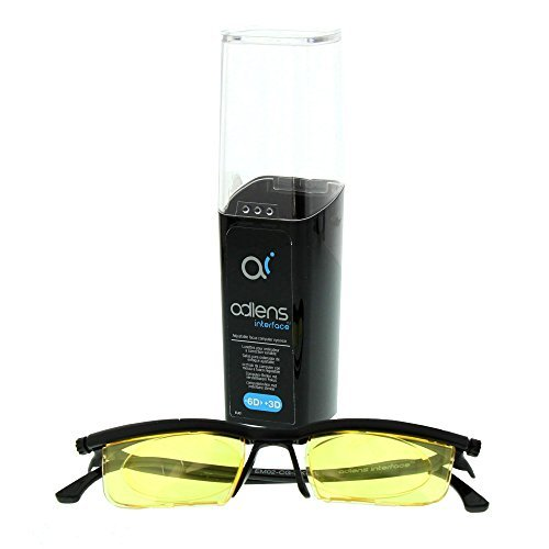 - Adlens Interface Black Frame with Yellow Lens