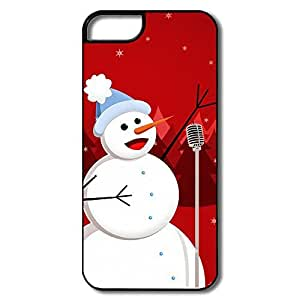IPhone 5/5s Cases Snowman Sing Design Hard Back Cover Cases Desgined By RRG2G