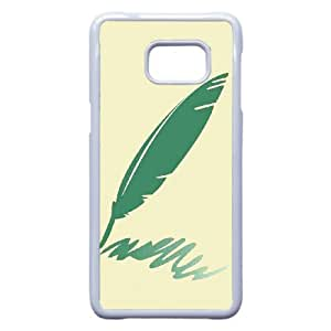 Classic Quill Image On Back Phone Case For Samsung Galaxy S6 Edge Plus