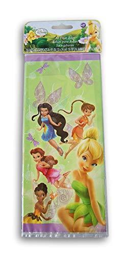 Tinkerbell Bag Goody - Wilton Disney Fairies Party Bag, 16 Count