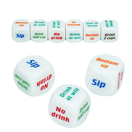 Kick things up with a dice drinking game
