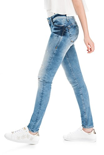 Denim Wonder Push Azzuro Wash Skinny Salsa Premium Up 4ZIWawq