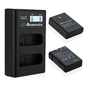 Power Extra LCD Dual Cargador y 2 Unidades de Batería de ...