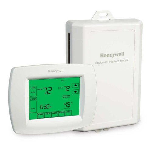 honeywell yth9421c1002 visionpro iaq touch screen 7 day honeywell yth9421c1002 visionpro iaq touch screen 7 day programmable thermostat version 2 programmable household thermostats amazon com