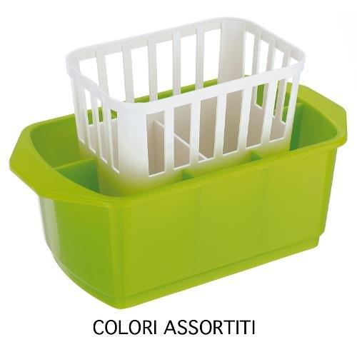 Blim Scolaposate rettangolare, multicolore, 24 x 13 x 14 cm 24x 13x 14cm Veca Blim_SS001-DM2413-A54