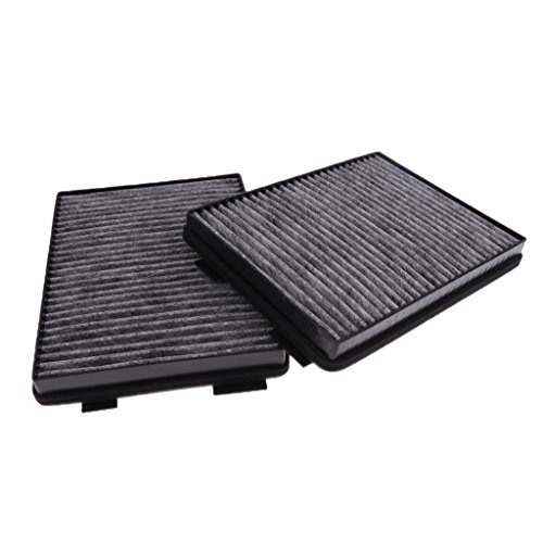 Baoblaze Brand New Car Cabin Air Filter Conversion Kit for BMW 5 Series E39 520i 523i Windscreens Carbon Fiber Series