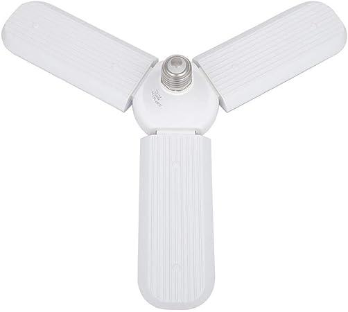 JHEY Luz de Ventilador Bombilla LED Ajustable de ángulo de aspa de ...