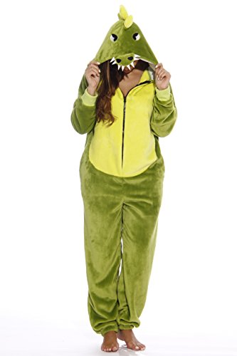 Just Love L6405-XXL-Dragon #FOLLOWME Adult Onesie/Adult Pajamas