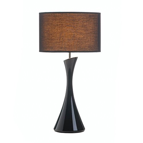Small Desk Lamp, Black Table Lamps For Bedroom, Modern Conte