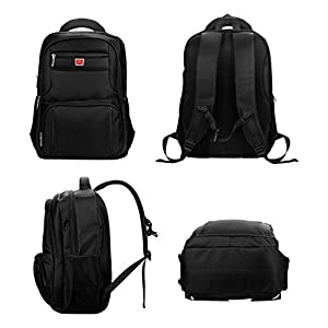 Laptop Backpack for Water-resistent Travel Business Bag, 17 Inch Backpack