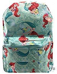 Disney Little Mermaid Princess Ariel & Flounder 16'' IN Backpack]()