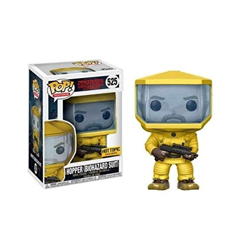 - Funko Pop! Television Stranger Things Hopper #525 (Biohazard Suit)