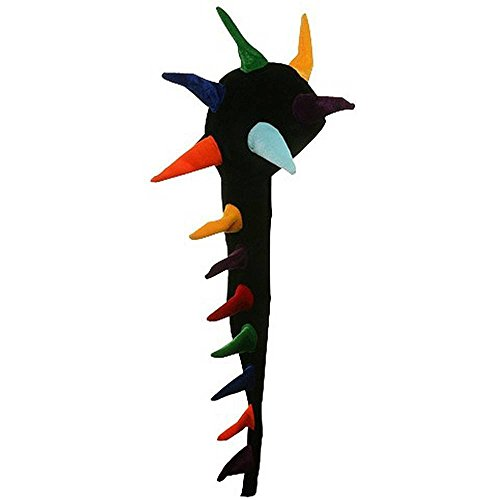 Rainbow Dragon Spikes Hat (Spike Dragon Costume)