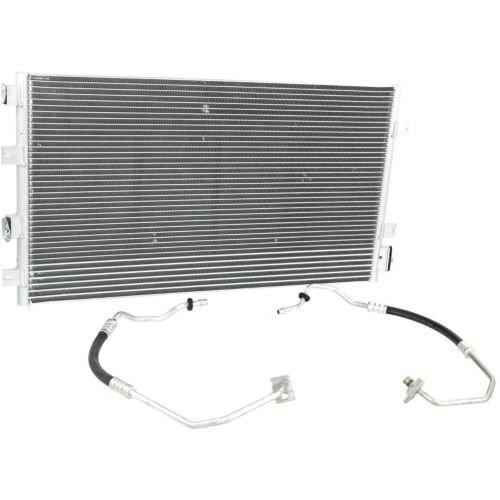 [Make Auto Parts Manufacturing - SEBRING/STRATUS 05-06 A/C CONDENSER, w/Cooler hoses, Convertible/Sedan - CH3030224] (Auto Air Conditioning Parts)