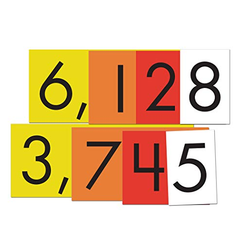 Essential Learning Products 4-Value Whole Numbers Place Cards Set ()