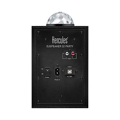 Hercules DJSpeaker 32 Party | 15-Watt RMS monitor speakers with tempo-synced light show by Hercules DJ (Image #1)