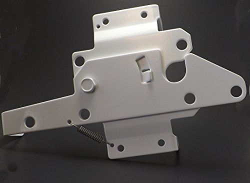 Post Mount Gate Latch (White Finish) | The Perfect Latch To Secure Your Pool and Yard Perfect to Replace Your Pool Gate Latch, Fence Gate Latch, Vinyl Gate Latch, and Wood Fence Gate Latch! In Business For Over 20 Years! (Post Mount Gate Latch)
