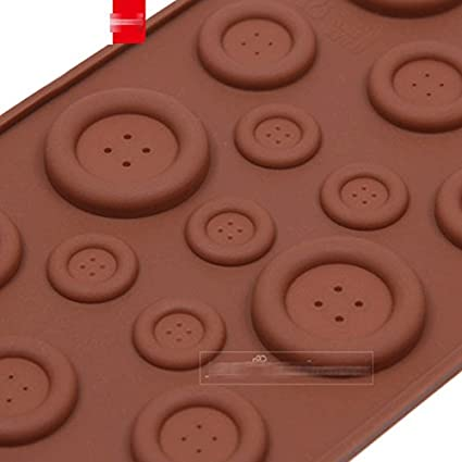 Amazon.com: Anyana Silicone Chocolate Mold 3D Cute Button Shape Cake Decoration Tools moldes de silicona para fondant, Kitchen Baking Tools: Kitchen & ...