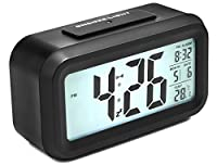Alarm Clock, Arespark Silent Digital Bed...