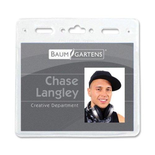 Baumgartens Vinyl (ID Badge Holder pack of 50)