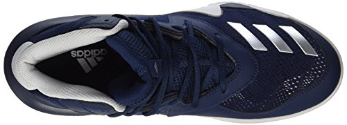 F17 Crazy grey Team Uomo Basket Two Da Met Multicolore silver 2017 Adidas Scarpe Navy collegiate A64Aw