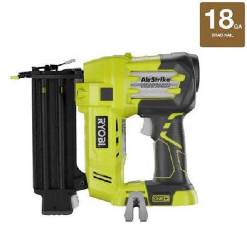 Ryobi ZRP320 ONE Plus 18V Cordless Lithium-Ion 2 in. Brad Nailer Battery and Charger Sold Separately (Certified Refurbished)