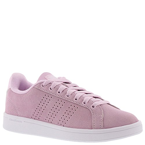 adidas Women's CF Advantage CL W, Aero Pink/Aero Pink/White, 5 M US