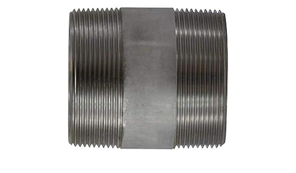 3//4 Diameter 2-1//2 Length Midland 48-083 SCH 40 Welded 304 Stainless Steel Nipple 304 Stainless Steel 3//4-14 thread Size 3//4 Diameter 2-1//2 Length Midland Metal 3//4-14 thread Size