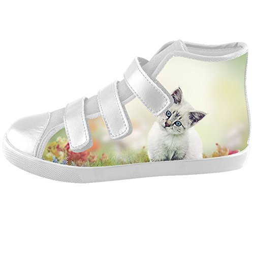 Chat Peindre C Kids Footwear Chaussures Sneakers Custom Canvas Shoes TOdw5qw6