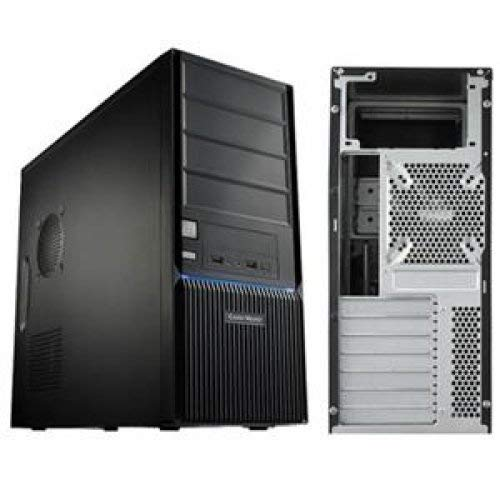 CMP 350 Mid tower ATX/M-ATX with 500W PSU; Includes 500W power supply. Front panel with grill design for rugged look and excellent air intake. Stylish front panel blue LED. Front I/O panel for easy ac